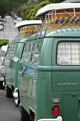 Bus Photograph - Volkswagen Vw Bus by Jill Reger