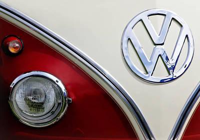 Photograph - Volkswagon Emblem II by Athena Mckinzie
