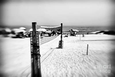 Photograph - Volleyball Net by John Rizzuto