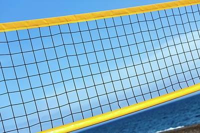 Volleyball Photograph - Volleyball Net by Wladimir Bulgar