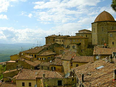 Art Print featuring the photograph Volterra by Victoria Lakes