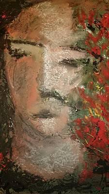 Volto Painting - Volto by Massimiliano Marino