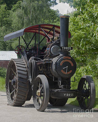 Photograph - Volunteer Fowler General Purpose Traction Engine  by Terri Waters