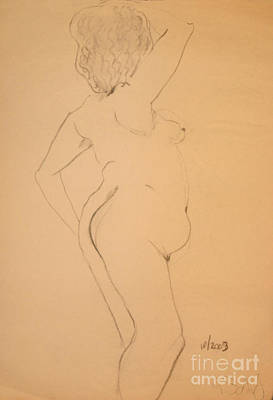 Voluptuous Nude Art Print