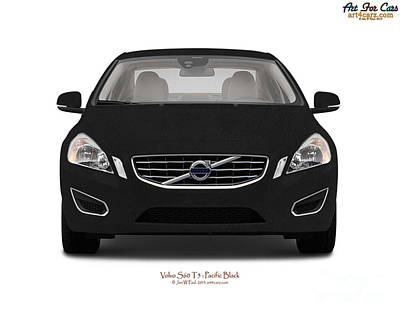 Photograph - Volvo S60 Pacafic Black by Art Faul