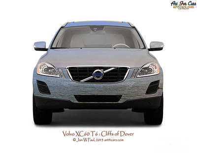 Photograph - Volvo Xc60 Cliffs Of Dover by Art Faul