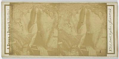 Switzerland Drawing - Vonte Ice In Grindelwald, Switzerland, Adolphe Braun by Artokoloro