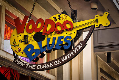 Photograph - Voodoo Blues Nola Dsc04794 by Greg Kluempers