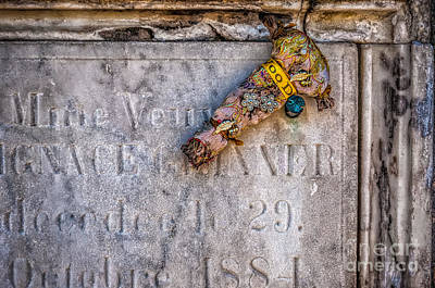 Photograph - Voodoo Doll In St Louis One Nola by Kathleen K Parker