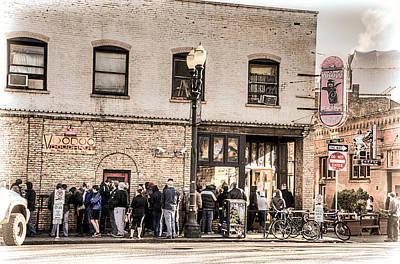 Photograph - Voodoo Doughnut Line by Spencer McDonald