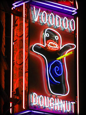 Photograph - Voodoo Doughnuts by Gail Lawnicki