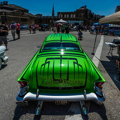 Kustom Photograph - Voodoo Kreeper - Rear View by Randy Scherkenbach
