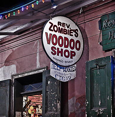 Photograph - Voodoo Needs Help by Barry Cole