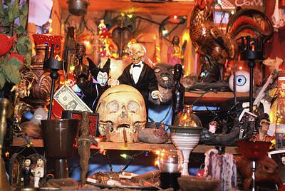 Voodoo Shop Wall Art - Photograph - Voodoo Objects by Paul Avis/science Photo Library