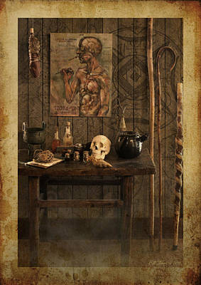 Vodou Photograph - Voodoo Shack by Bill Jonas