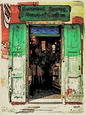 Voodoo Shop Wall Art - Photograph - Voodoo Shop New Orleans by Rebecca Korpita