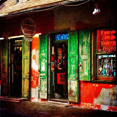 Voodoo Shop Photograph - Voodoo Shop by Randi Grace Nilsberg