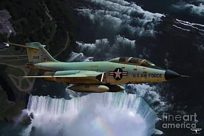 F-101 Digital Art - Voodoo by Tommy Anderson
