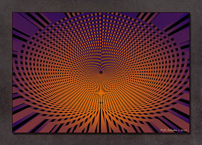 Digital Art - Vortex 11 by WB Johnston