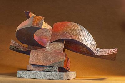 Sculpture - Vortex by Richard Arfsten