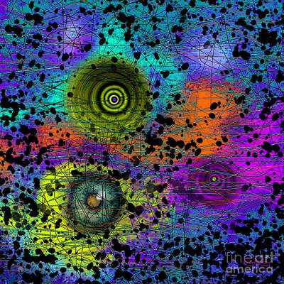 Digital Art - Vortex by Carol Jacobs