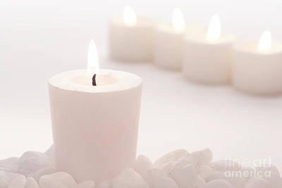Photograph - Votive Candle by Olivier Le Queinec