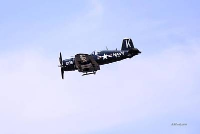 Photograph - Vought F4u Corsair by Susan Stevens Crosby