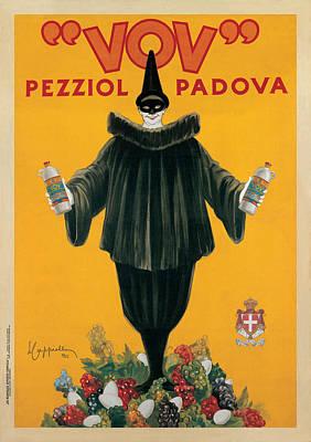 Black Clown Painting - Vov 1922 by Leonetto Cappiello
