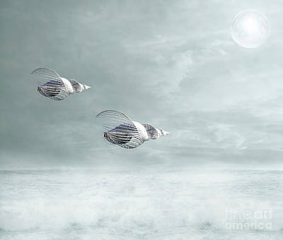 Surrealism Royalty-Free and Rights-Managed Images - Voyage by Jacky Gerritsen