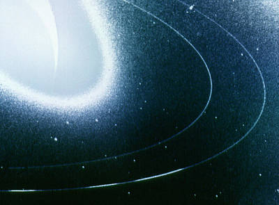 Neptune Wall Art - Photograph - Voyager 2 Image Of Neptune by Nasa/science Photo Library