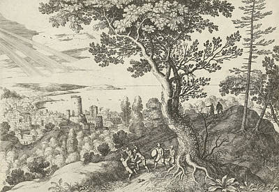 Voyager Is Attacked By Robbers, Willem Van Nieulandt II Art Print by Artokoloro