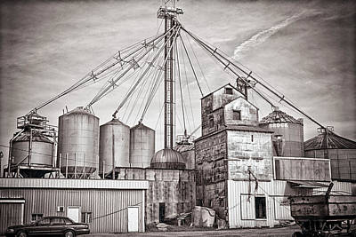 Voyces Mill Art Print by Sennie Pierson