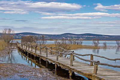 Photograph - Vransko Lake Nature Park Bird Observatory by Brch Photography