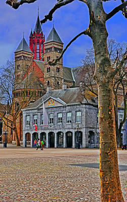 Photograph - Vrijthof Square by Elvis Vaughn