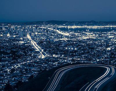 Photograph - Vue de la colline by Denise Cottin