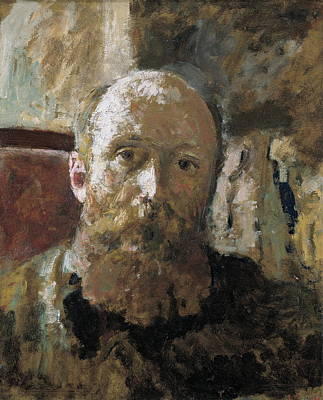 Self-portrait Photograph - Vuillard, Edouard 1868-1940 by Everett