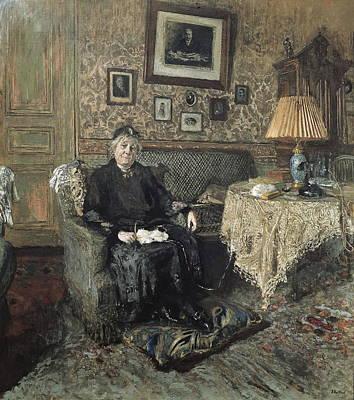 Vuillard, Edouard 1868-1940. Madame Art Print