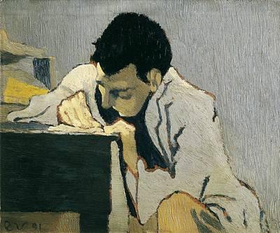 Vuillard, Edouard 1868-1940. Portrait Art Print