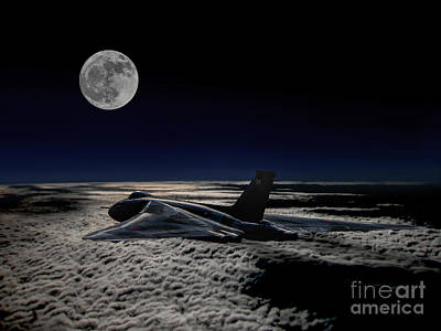 Vulcan At Night Art Print