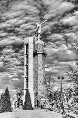Photograph - Vulcan Birmingham  by JC Findley