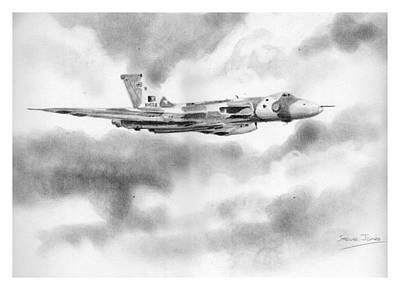 Drawing - Vulcan by Steve Jones