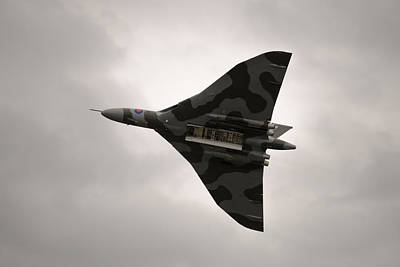 Photograph - Aircraft - Vulcan Xh558 - Bombs Away by Scott Lyons