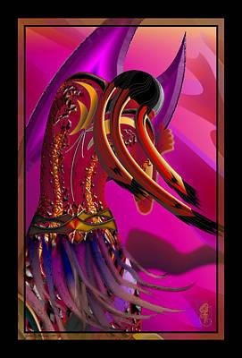 Digital Art - Vulnerable - Art Print by James Mulvania