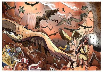 Vulture Supremacy Original by Reynold Jay