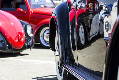 Auto Photograph - Vw Beetles And Reflections Bugorama 69 by Studio Janney