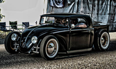 Photograph - Vw Bug by Ron Roberts