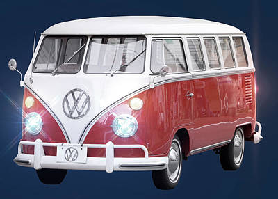 Photograph - Vw Bus by Carlos Diaz