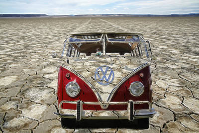 Photograph - Vw Dry Lakes by Steve McKinzie