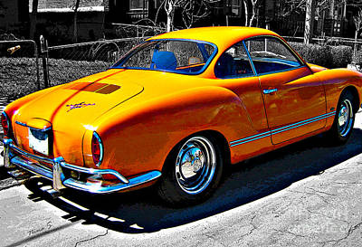 Photograph - Vw Karmann Ghia by Nina Silver