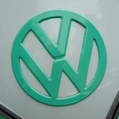 Photograph - Vw Logo by Keith Swango